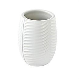 Vern Yip by SKL Rosemary Beach Stone Tumbler in White