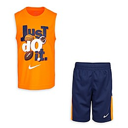 Nike® 2-Piece Just Do It Dri-FIT Muscle Tank and Short Set