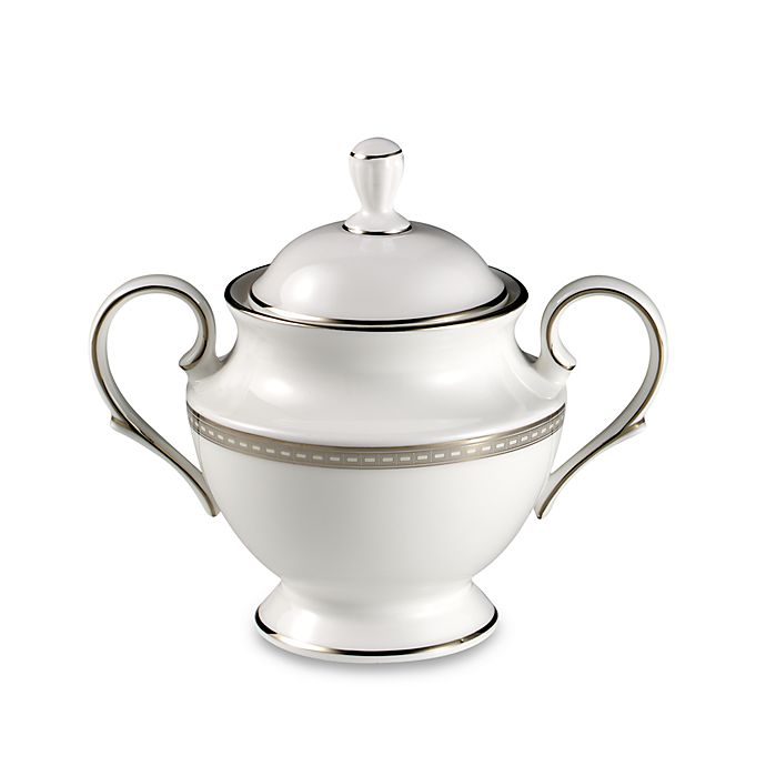 Alternate image 1 for Lenox® Murray Hill Covered Sugar Bowl