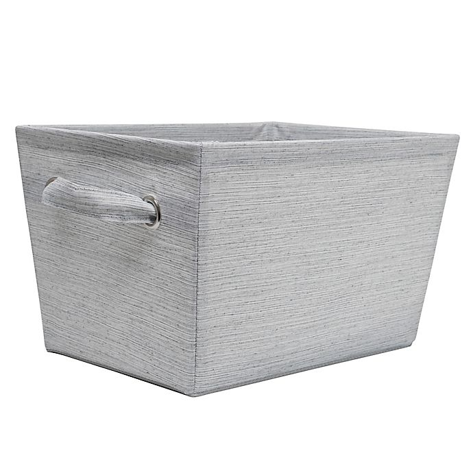 Alternate image 1 for SALT™ Serenity Storage Bin in Grey