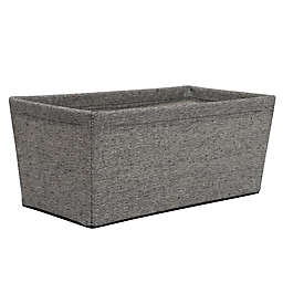 SALT™ Arrow Weave Small Storage Bin in Grey