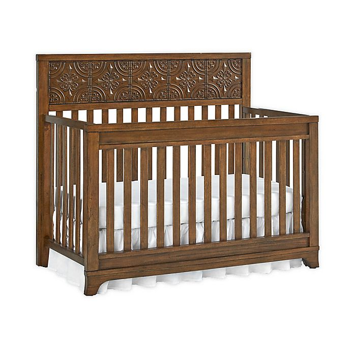 Alternate image 1 for bel amore® Brentwood 4-in-1 Convertible Crib in Brown
