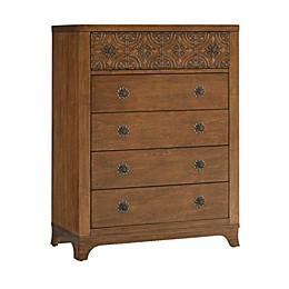bel amore® Brentwood 5-Drawer Dresser in Brown