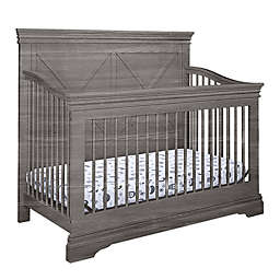 Belle Isle Furniture Windhaven 4-in-1 Convertible Crib in Weathered Oak