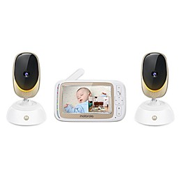 Motorola® Comfort85-2 Connect 5-Inch Color LCD Wifi Video Baby Monitor with 2 Cameras