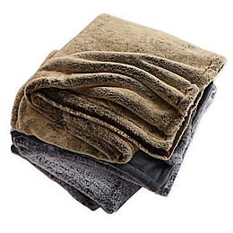 Ayesha Curry™ Luxe Faux Fur Reversible Throw Blanket
