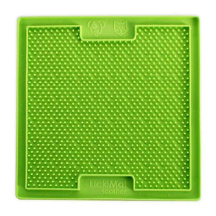 Alternate image 1 for Hyper Pet™ LickiMat Bordom Buster Slow Feeder Dog/Cat Mat in Green