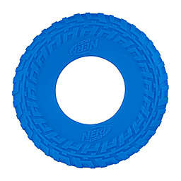 Nerf Dog Translucent TIRE Flyer in Blue