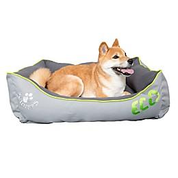 Scruffs Eco Box Pet Bed in Urban Grey