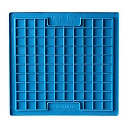 Hyper Pet™ LickiMat Boredom Buster Slow Feeder Dog/Cat Mat in Blue