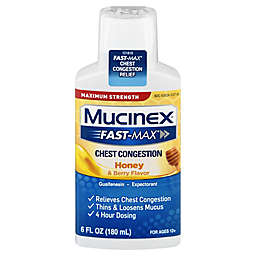Mucinex® Maximum Strength Fast-Max® 6 fl. oz. Severe Congestion and Cough in Honey and Berry