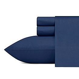 Solid Captains Blue Sheet Set