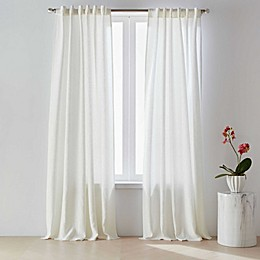 O&O by Olivia & Oliver™ 100% Belgian Linen Rod Pocket/Back Tab Curtain Panel