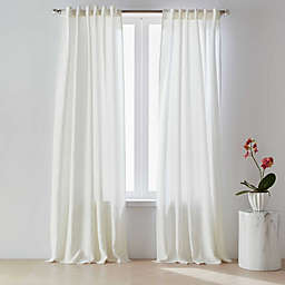O&O by Olivia & Oliver™ 100% Belgian Linen Light Filtering Rod Pocket/Back Tab Curtains