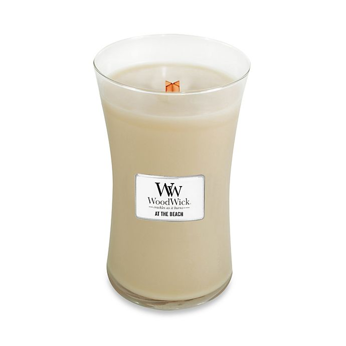 Alternate image 1 for WoodWick® At the Beach 22 oz. Jar Candle