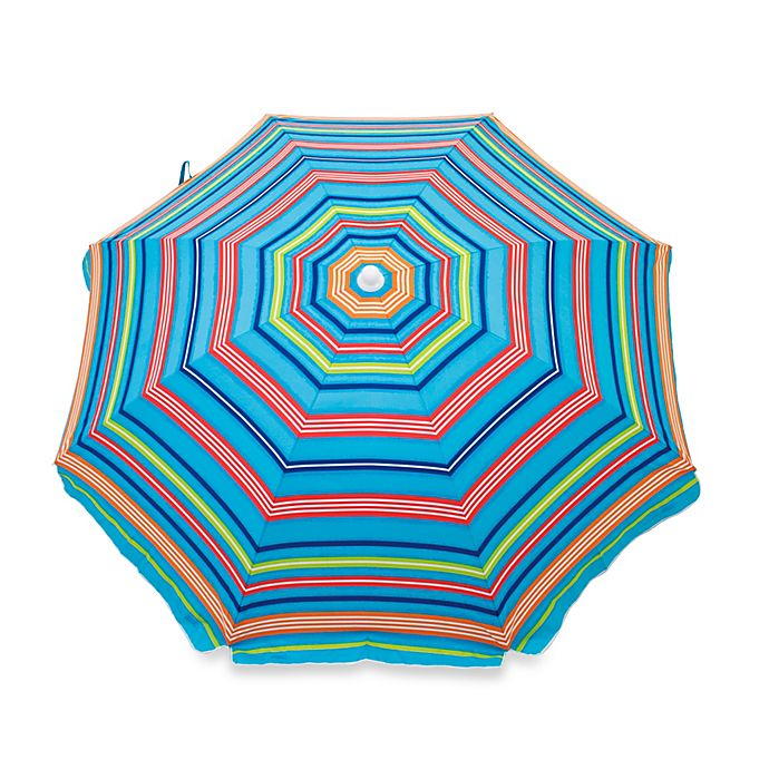 Alternate image 1 for 6-Foot Beach Umbrella in Multicolor