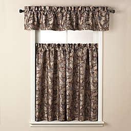 Bella Bath Window Curtain Tier Pairs