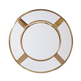 Southern Enterprises© Welix 27.25-Inch Roung Wall Mirror in Bright Brass