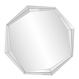 Southern Enterprises© Roxlynn 34.25-Inch x 34.25-Inch Oversized Geometric Wall Mirror