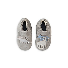 Robeez® Ramsey Dinosaur Shoe in Grey