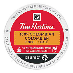Tim Hortons® Colombian Coffee Pods for Single Serve Coffee Makers 30-Count