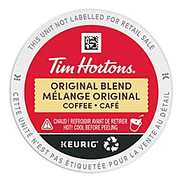 Tim Hortons® Original Blend Coffee Pods for Single Serve Coffee Makers 48-Count