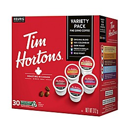 Tim Hortons® Variety Pack Coffee Pods for Single Serve Coffee Makers 30-Count