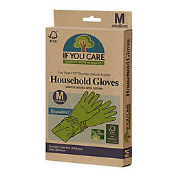 If You Care® Medium Household Cleaning Gloves in Green