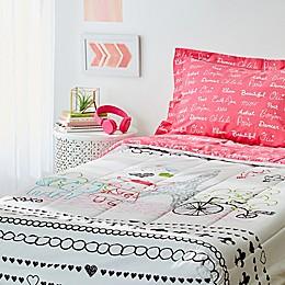 Bon Jour Paris Bedding Collection
