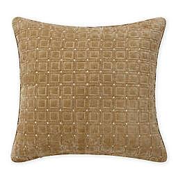 Rose Tree Jolene European Pillow Sham in Gold