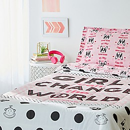 Girls Change The World Bedding Collection