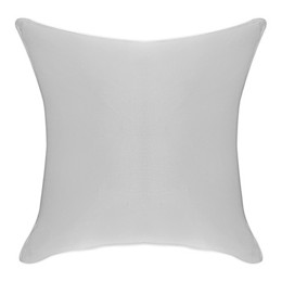 Faux Linen Square Throw Pillow