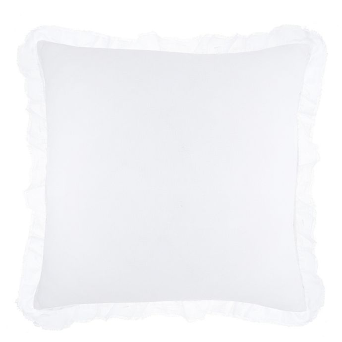 Alternate image 1 for Wamsutta® Vintage Hillaire European Throw Pillow in White