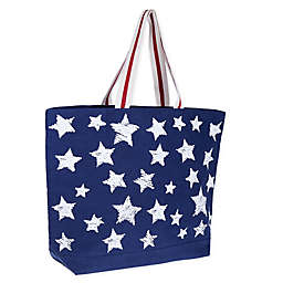 Bee & Willow™ Home Star Tote Bag in Navy