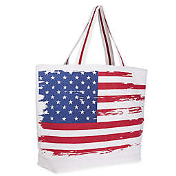 Bee & Willow™ Home American Flag Tote Bag in Red/White/Blue