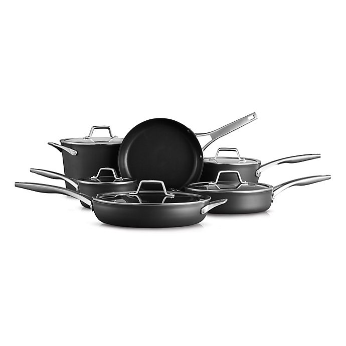 Alternate image 1 for Calphalon® Premier™ Hard-Anodized Nonstick 11-Piece Cookware Set