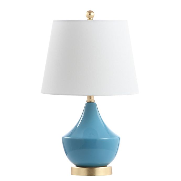 Alternate image 1 for Safavieh Disney® Cosmic Table Lamp in Blue with LED Bulb and Cotton Shade