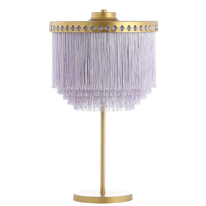 Alternate image 1 for Safavieh Disney® LED Dreamer Table Lamp in Gold with Tassel Shade