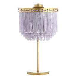Safavieh Disney® LED Dreamer Table Lamp in Gold with Tassel Shade