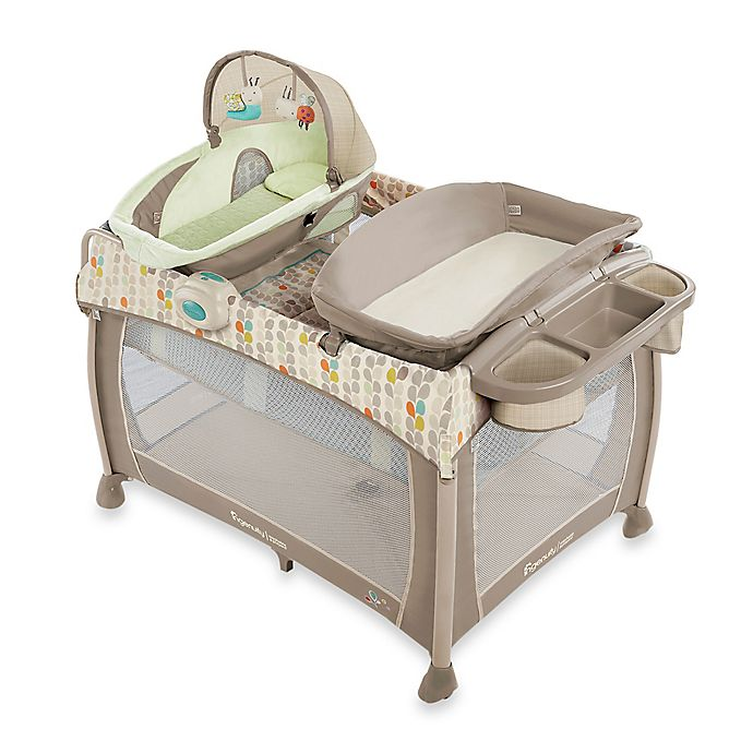 Ingenuity Washable Playard Deluxe With Dream Centre In Seneca