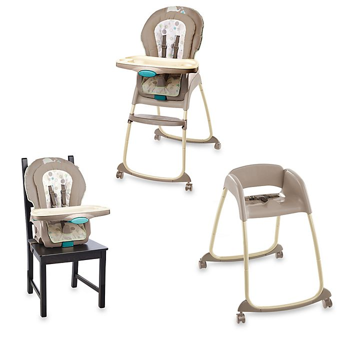 Alternate image 1 for Ingenuity™ Trio 3-in-1 Deluxe High Chair™ in Sahara Burst™