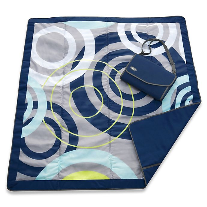 Alternate image 1 for JJ Cole® All-Purpose Outdoor Blanket in Blue Orbit