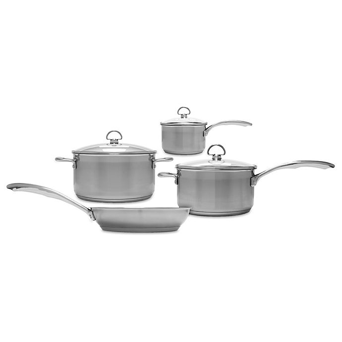 Alternate image 1 for Chantal® Induction 21 Steel™ 7-Piece Cookware Set