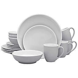 Noritake® ColorTrio Coupe 16-Piece Dinnerware Set in Slate