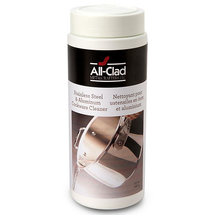 Alternate image 1 for All-Clad Stainless Steel 12 oz. Cookware Cleaner and Polish