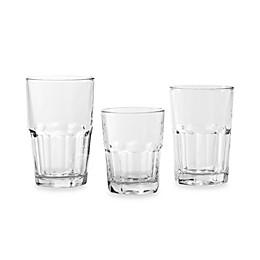 Libbey® Crisa Boston 18-Piece Glassware Set