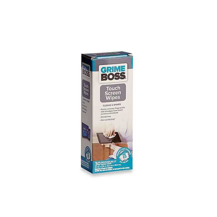 Alternate image 1 for Grime Boss® 30-Count Touch Screen Wipes