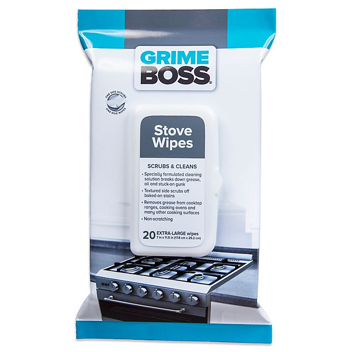 Alternate image 1 for Grime Boss® 20-Count Stove Wipes