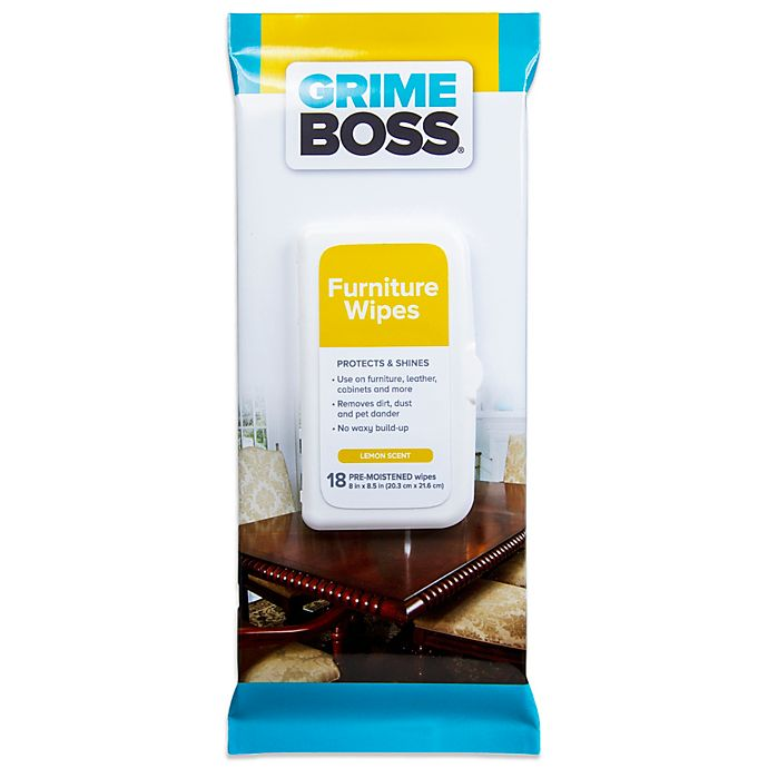 Alternate image 1 for Grime Boss® 18-Count Furniture Wipes