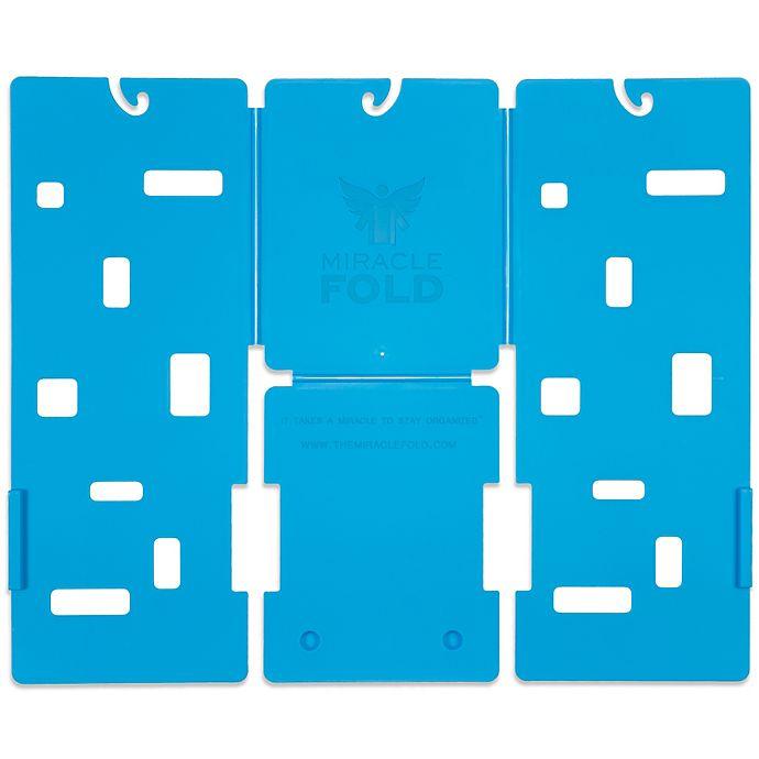 Alternate image 1 for MiracleFold Laundry Folder in Sky Blue